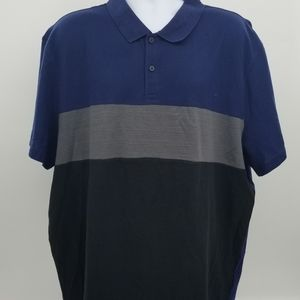 Calvin Klein Lightweight Textured Polo Shirt - NWT